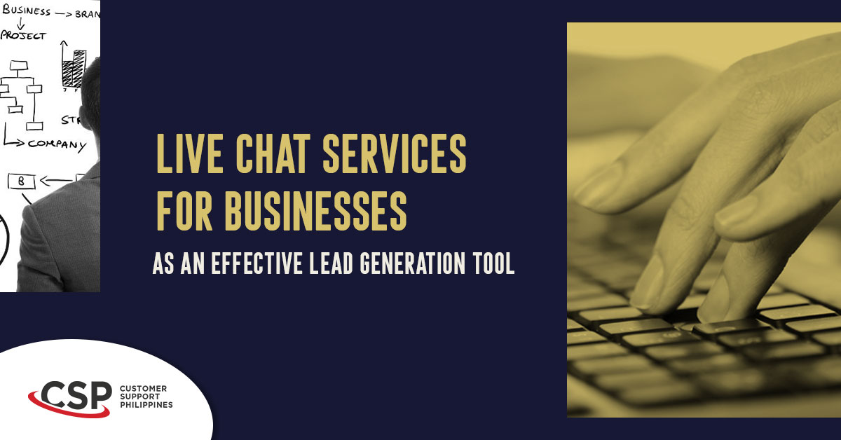 Live Chat Services For Businesses As An Effective Lead